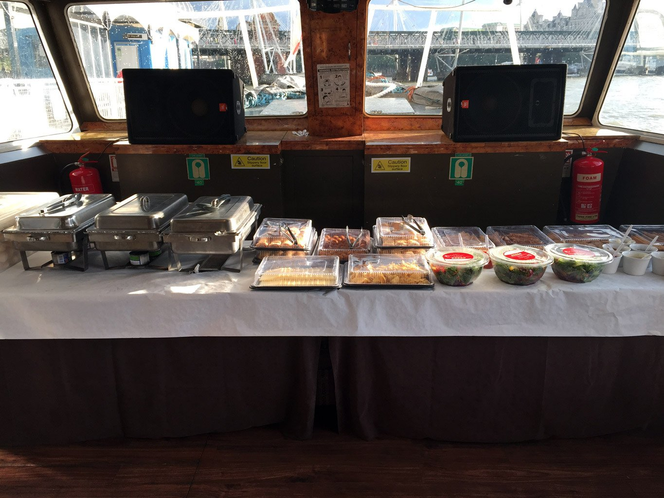 Party Boat Catering