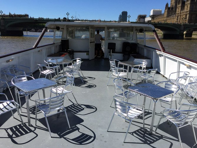 Open Deck River Party Boat