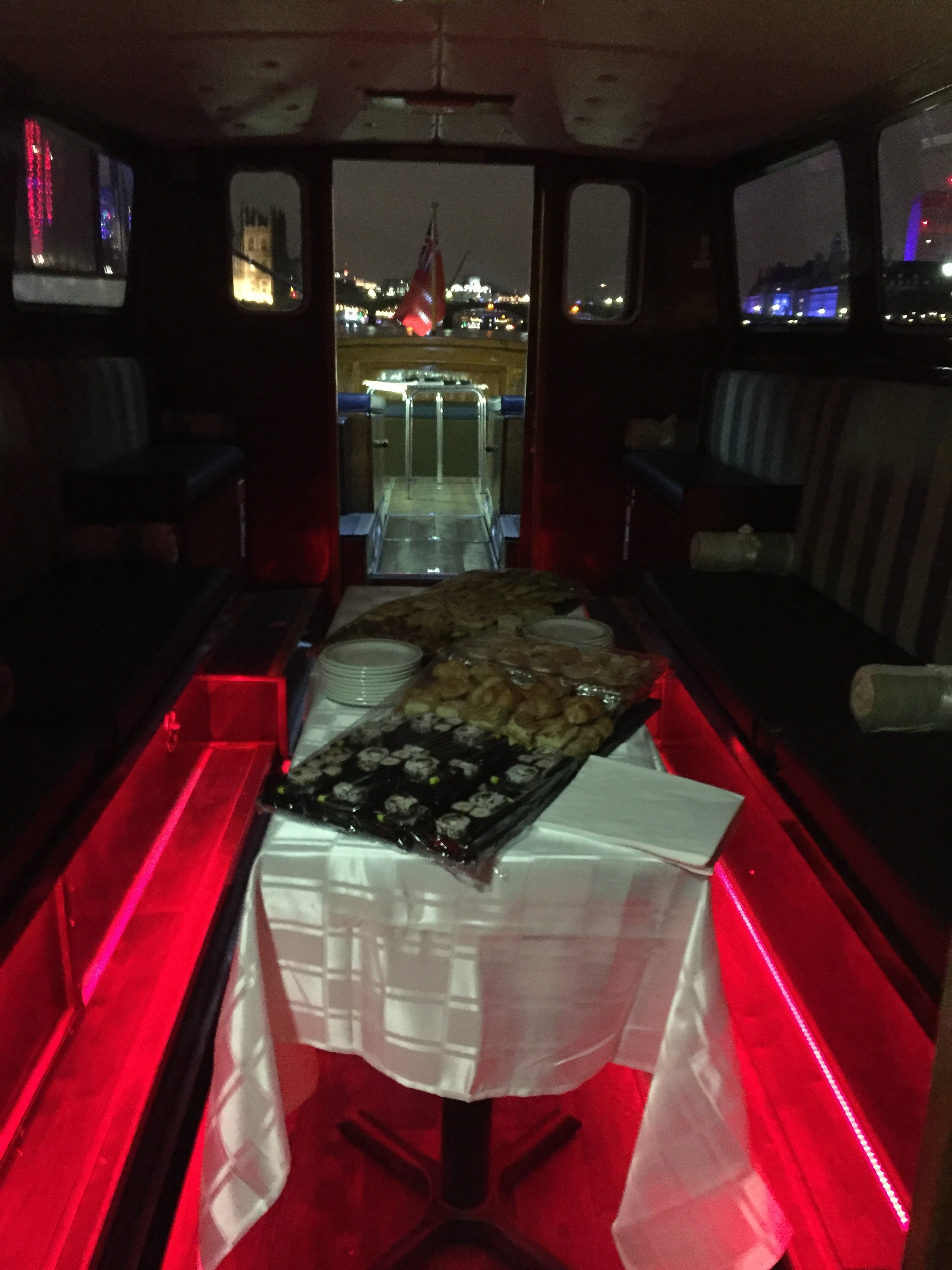 New Years Churchill Party Boat Event