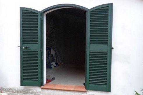 porta persiana con arco
