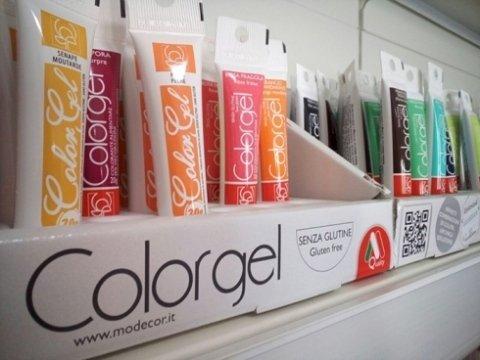 colorgel, prodotti senza glutine, colori di alta qualità