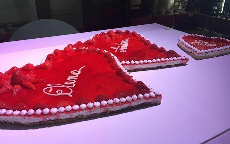 due torte a cuore