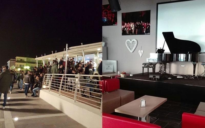 ristorante con terrazza per eventi serali