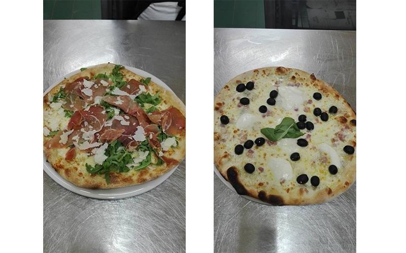pizze con diversi gusti