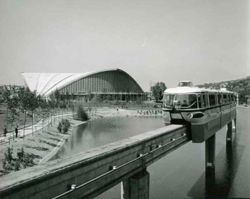 foto storica di un tramvia