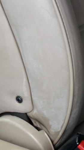 rivestimento sedile auto con bottone