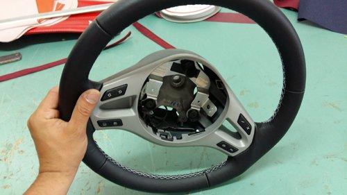 volante in riparazione