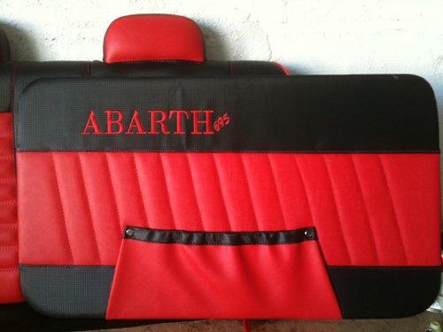 tappezzerie sedili Abarth