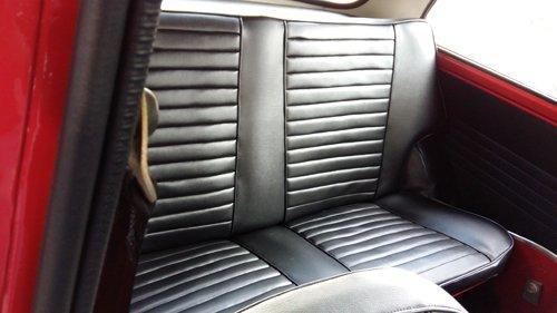 sedili posteriori di un auto