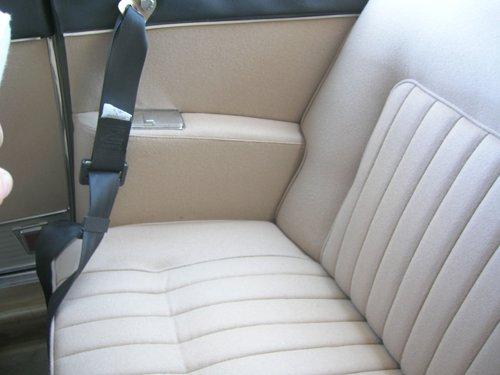 interno beige con cintura di sicurezza
