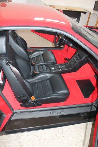 interni auto sportiva