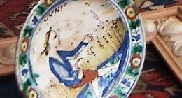 restauro di opere dipinte su superfici murarie