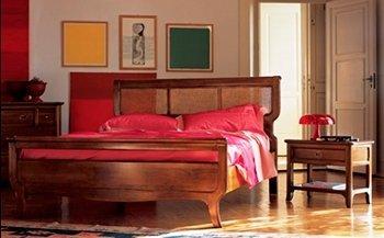 cantiero letto rosso