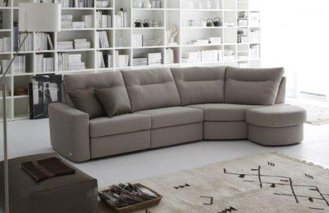 salotto divano bianco