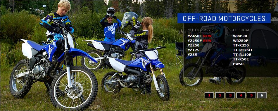 Blue Yamaha Snowmobile