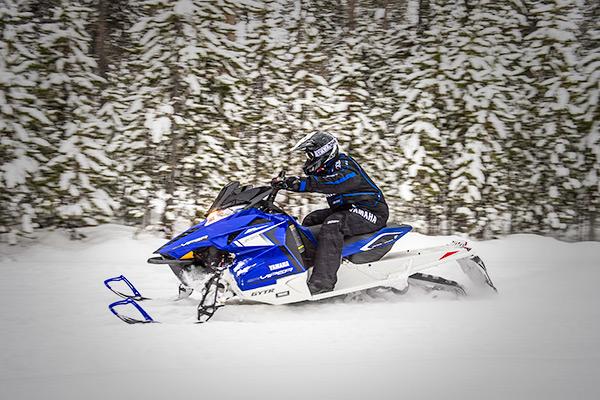 Yamaha snowmobile in Big Lake, AK