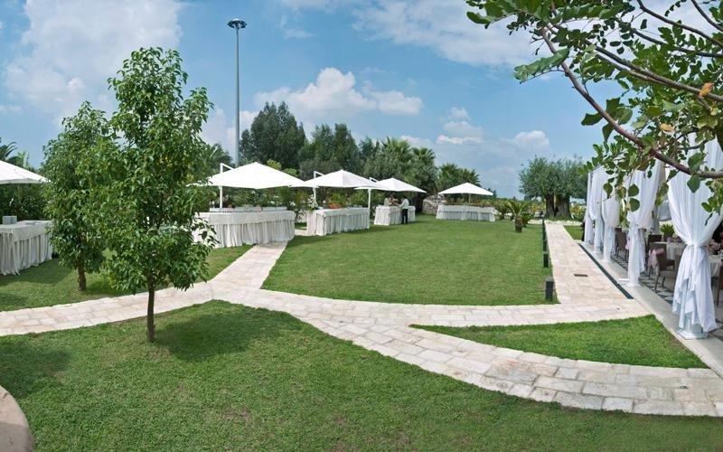 I giardini di Villa Royal, location Giugliano