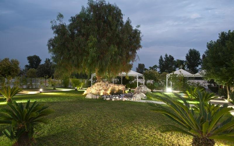 Il parco di Villa Royal
