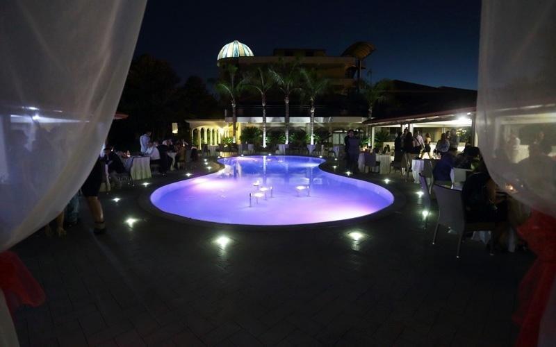 Matrimonio con buffet su bordo piscina, Napoli, Caserta