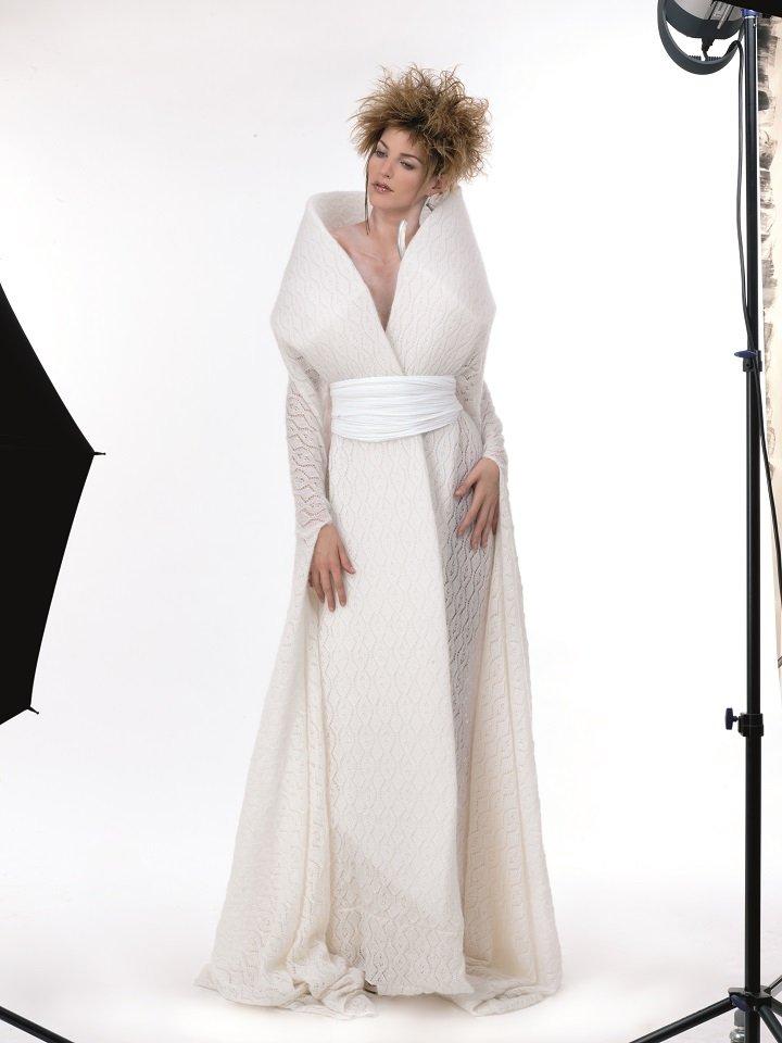 vestito elegante bianco