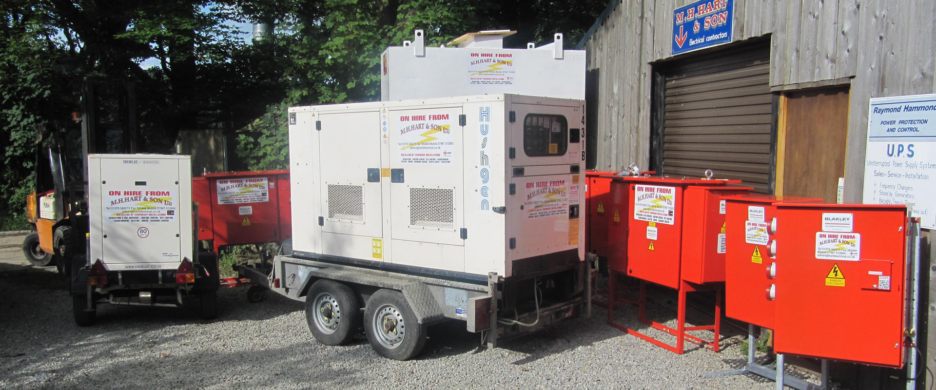 High-quality electrical equipment and professional electrical services