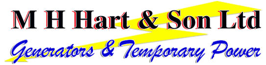 M H Hart & Son Ltd Generators & Temporary Power logo