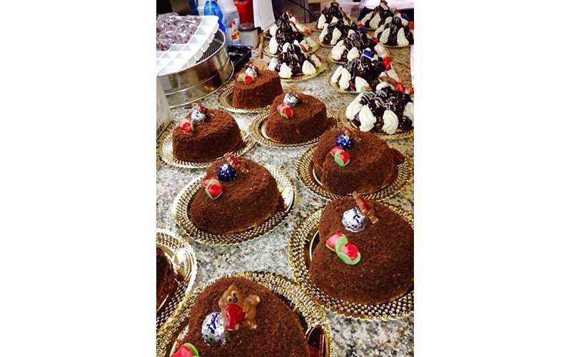 piccole torte tartufate