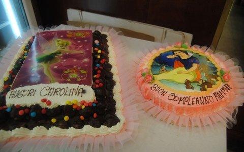 due torte di compleanno per bambini