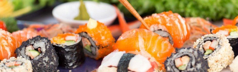Uramaki e sushi mix