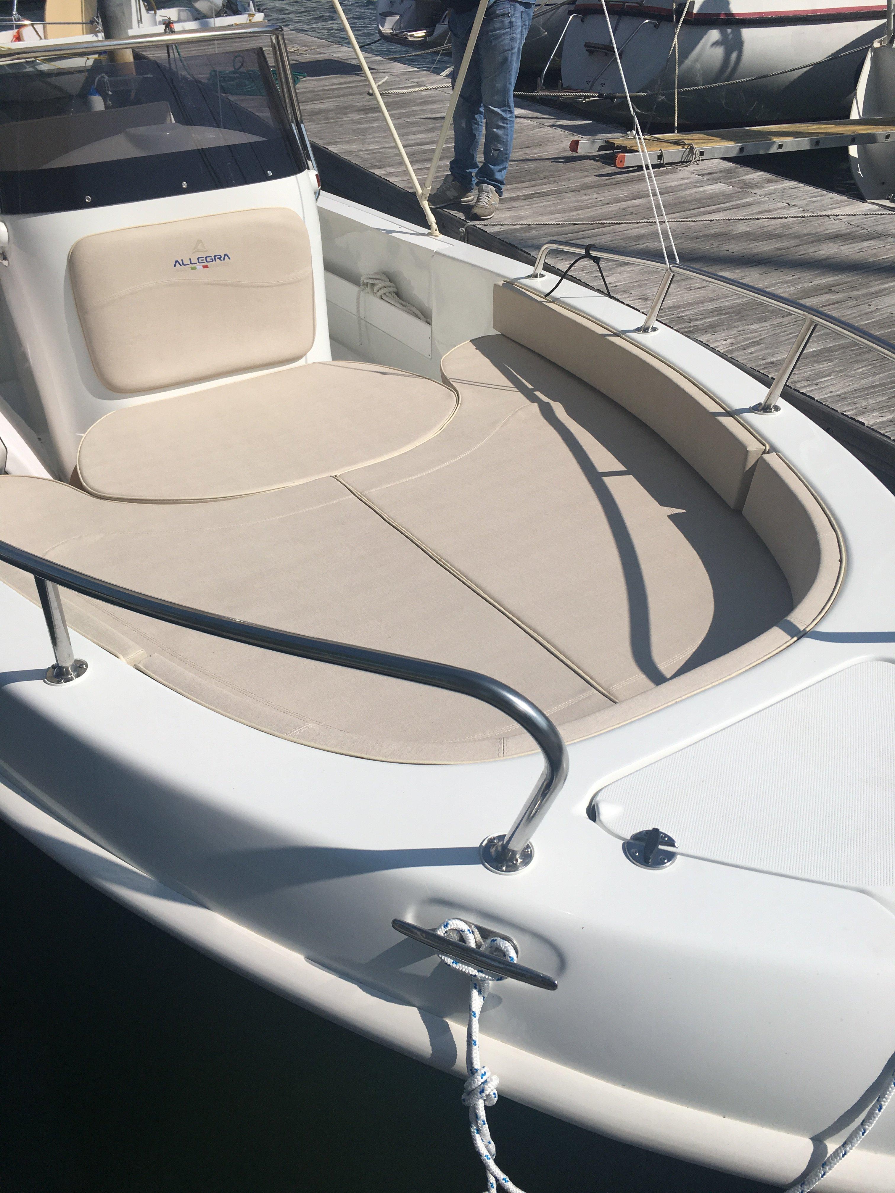 motore di una barca