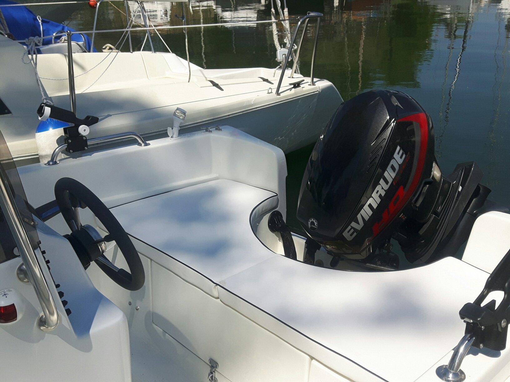Motore della barca Allegra Corallo