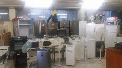 Frigoriferi, ventilatori,lavatrici,forni,forni a microonde