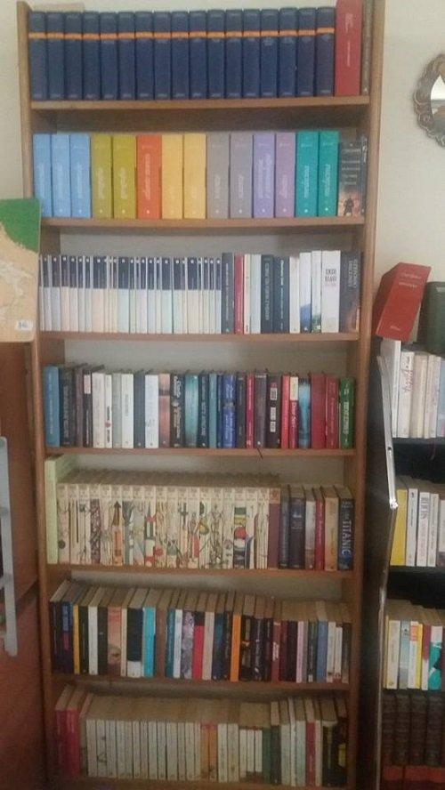 Sezioni di libri di seconda mano