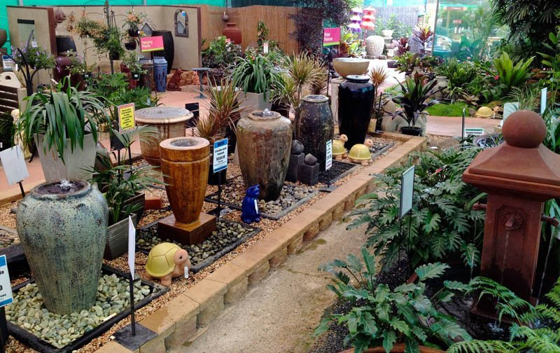 Unique water features for sale in qld timbara garden centre for Gardening tools brisbane