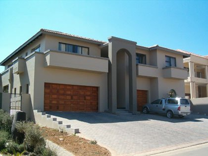 Painters durbanville painting contractors cape town for Double storey house plans in south africa