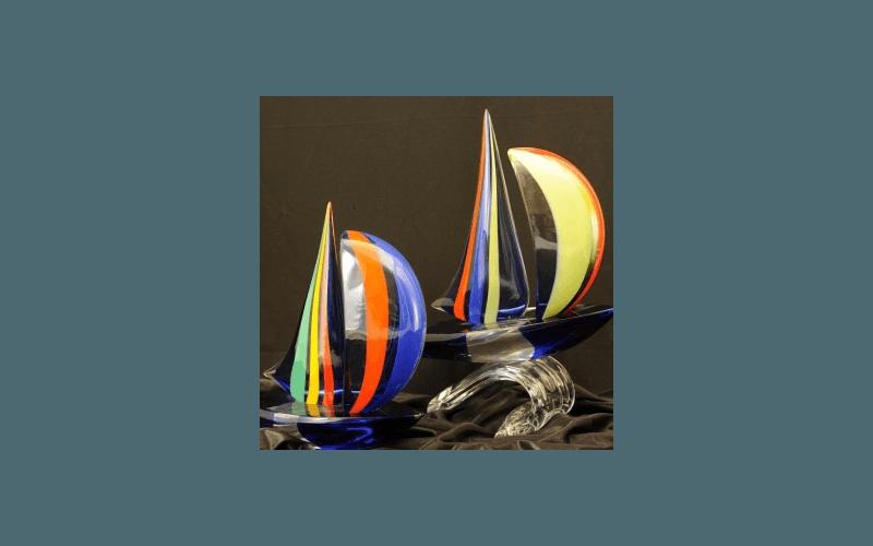 barche in vetro