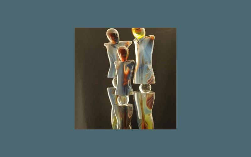 figure in vetro murano
