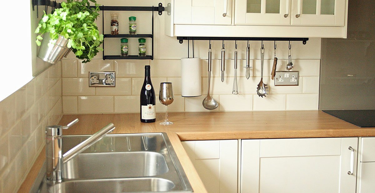 a fully fitted kitchen