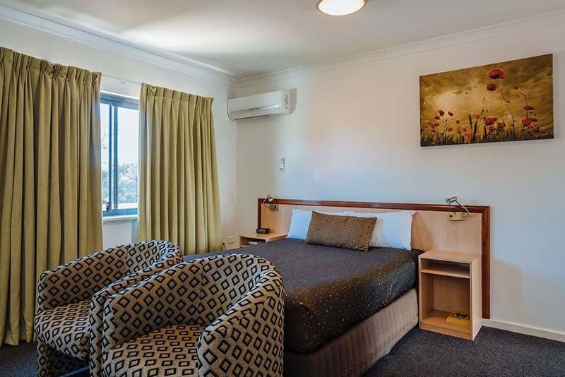 Luxury spa suite bed