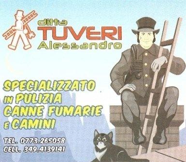 Pulizia camini, canne fumarie a Latina e Frosione Ditta Tuveri Alessandro