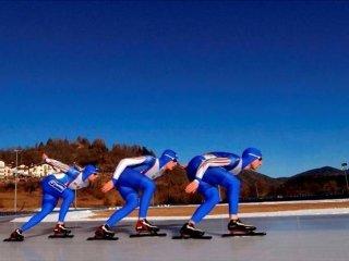 pattinaggio di velocità su ghiaccio