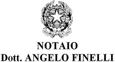 NOTAIO DOTT. ANGELO FINELLI - LOGO