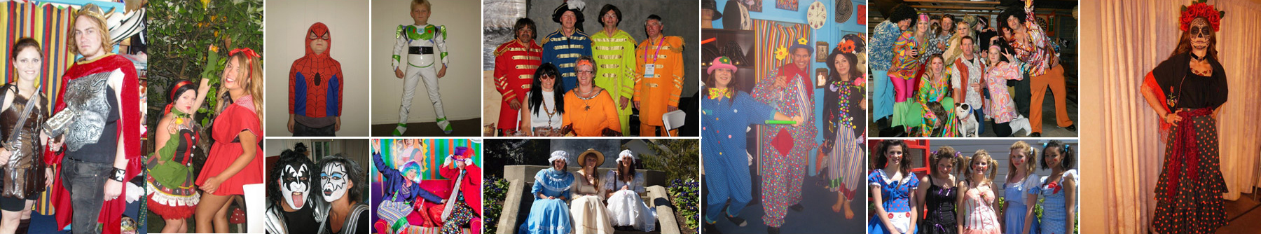 Affordable costume rental in Nelson