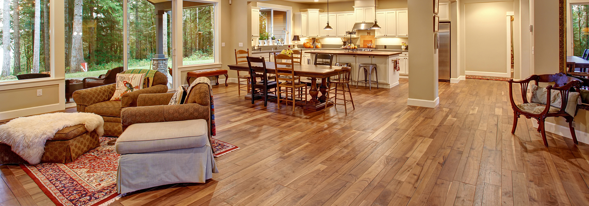Wooden flooring done by experts in Bend, OR