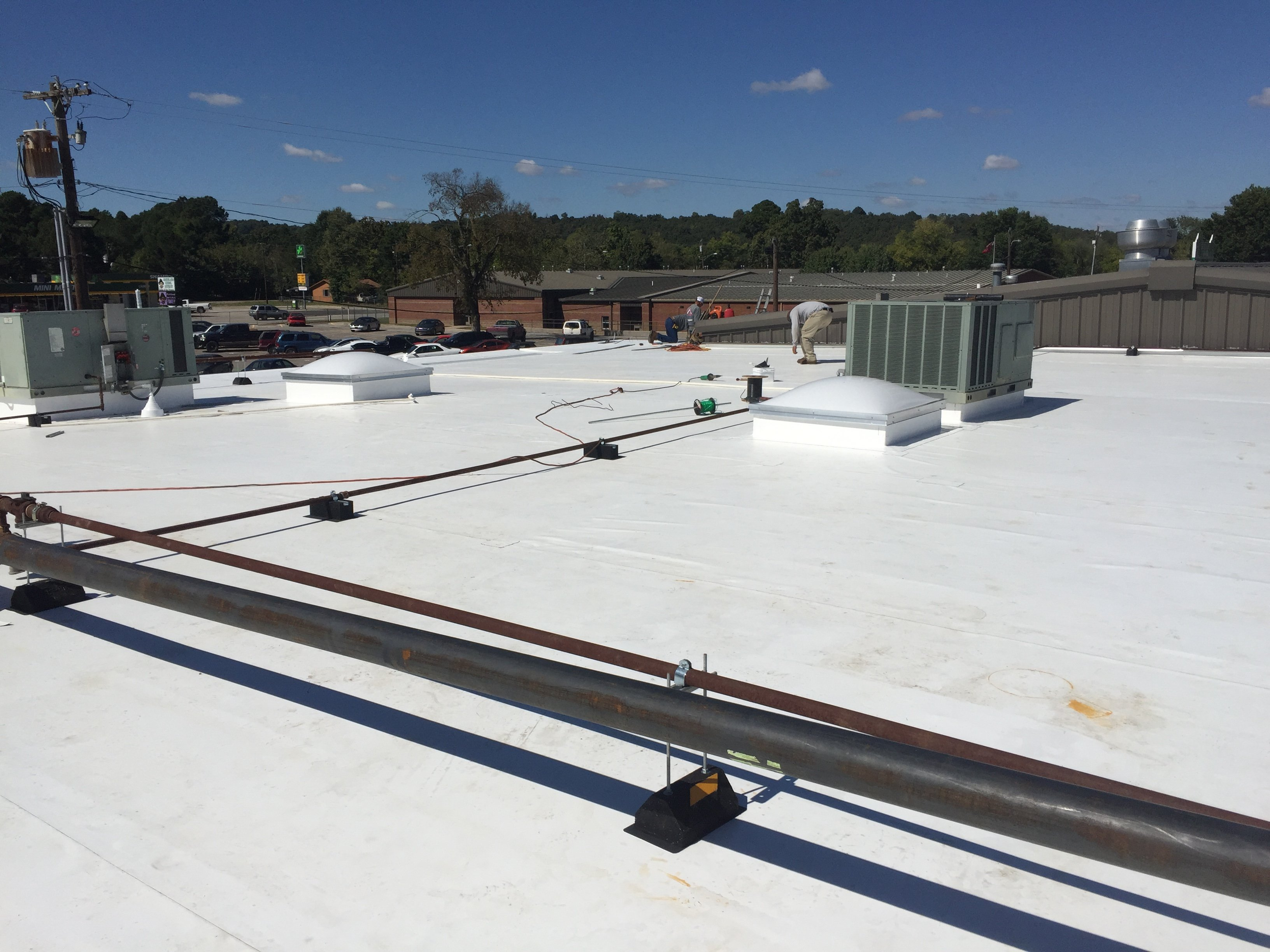 Portfolio Commercial Roofing Freedom Roofing Solutions
