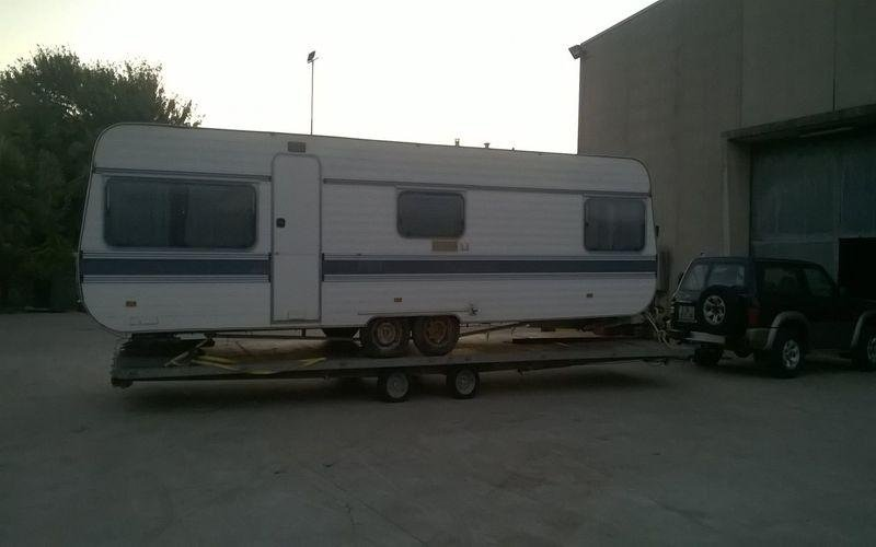Traino camper