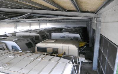 Riparazione caravan