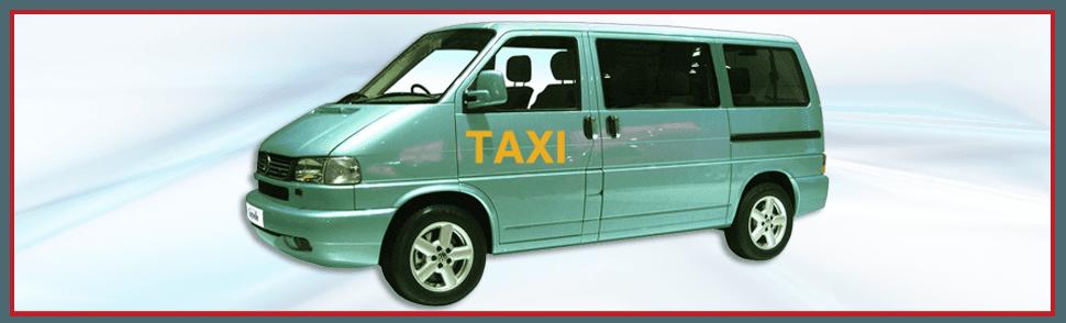 Silver taxi