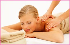 A calming, relaxing massage carried out by a professional
