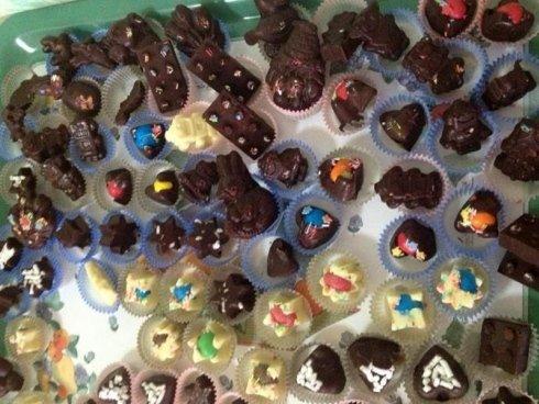dolcetti realizzati durante il laboratorio di cucina